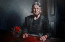 Portrait of a old women