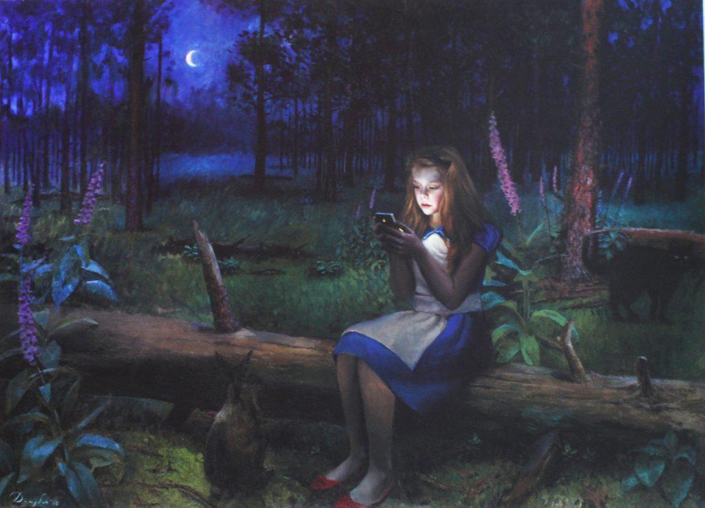 Alice in wonderlicht
