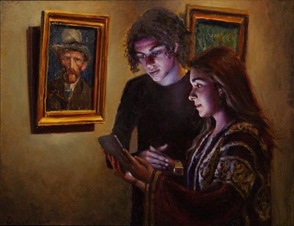 New Light in the Rijksmuseum 30x40cm Painting Daniel-Douglas 2018