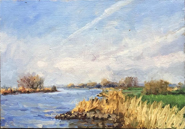 Herfst aan de IJssel