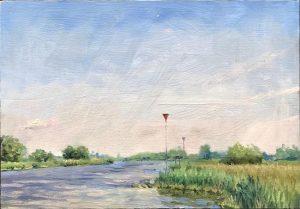 Zonnige ochtend aan de IJssel